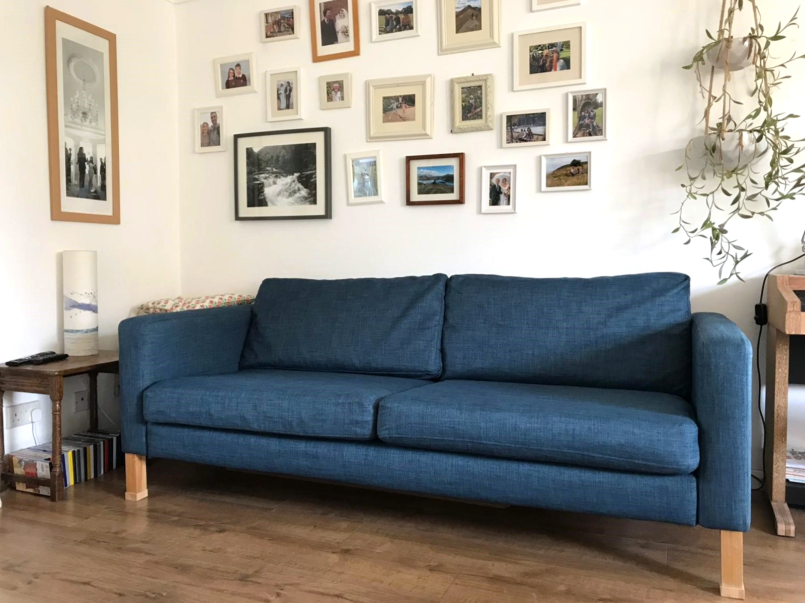 Ikea Karlstad Sofa In Kino Denim Sofa Slipcovers By Comfort Works Click To Buy Couch Covers In The Same Karlstad Sofa Ikea Karlstad Sofa Living Room Designs