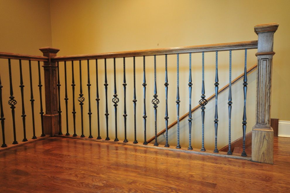 High Quality Image By: Jusalda Custom Stairs Inc · Wrought Iron SpindlesStaircase ...