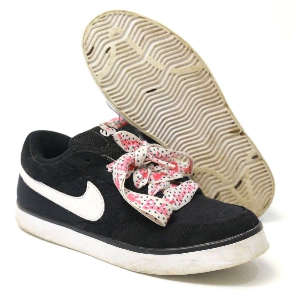 77d9c3e7e Youth NIKE Avid Jr 6.0 434727-003 - Pink shoe laces Size 6Y  Nike ...