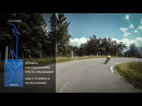 Col d'Aspin Descent to Arreau (in full) - Cycling Inspiration & Education - YouTube