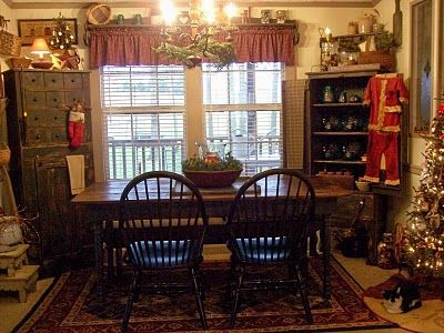 Backwoods Country Primitives #PrimitiveDiningRooms | Primitive Dining Rooms  | Pinterest | Primitive Dining Rooms, Country Primitive And Primitives