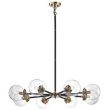 Black chandeliers modern chandeliers suspension lights at lumens com