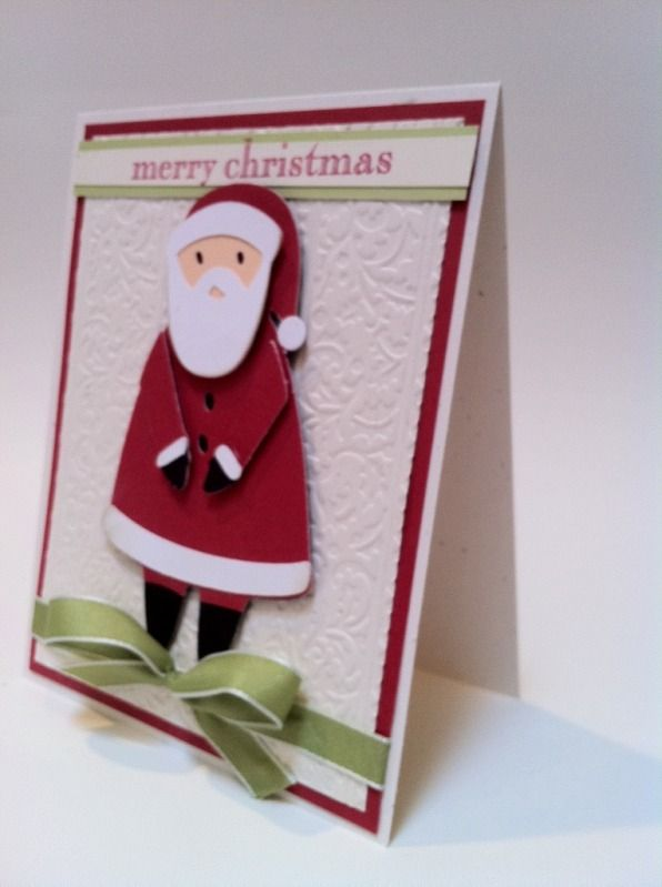 Santa Card With Images Christmas Cards To Make Merry Christmas Card Christmas Cards