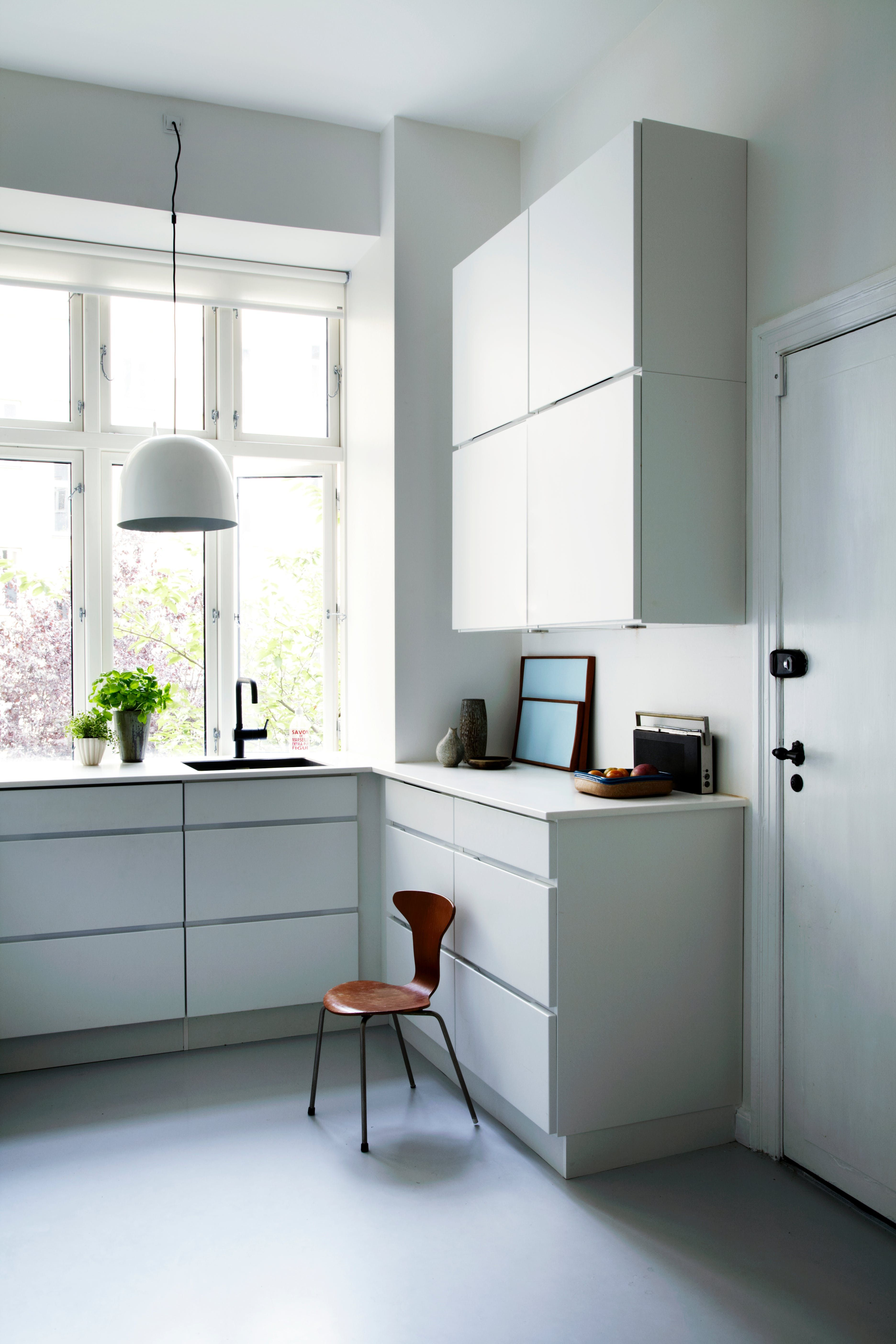 Arne jacobsen interior a playful classic u contemporary home in copenhagen  kitchens