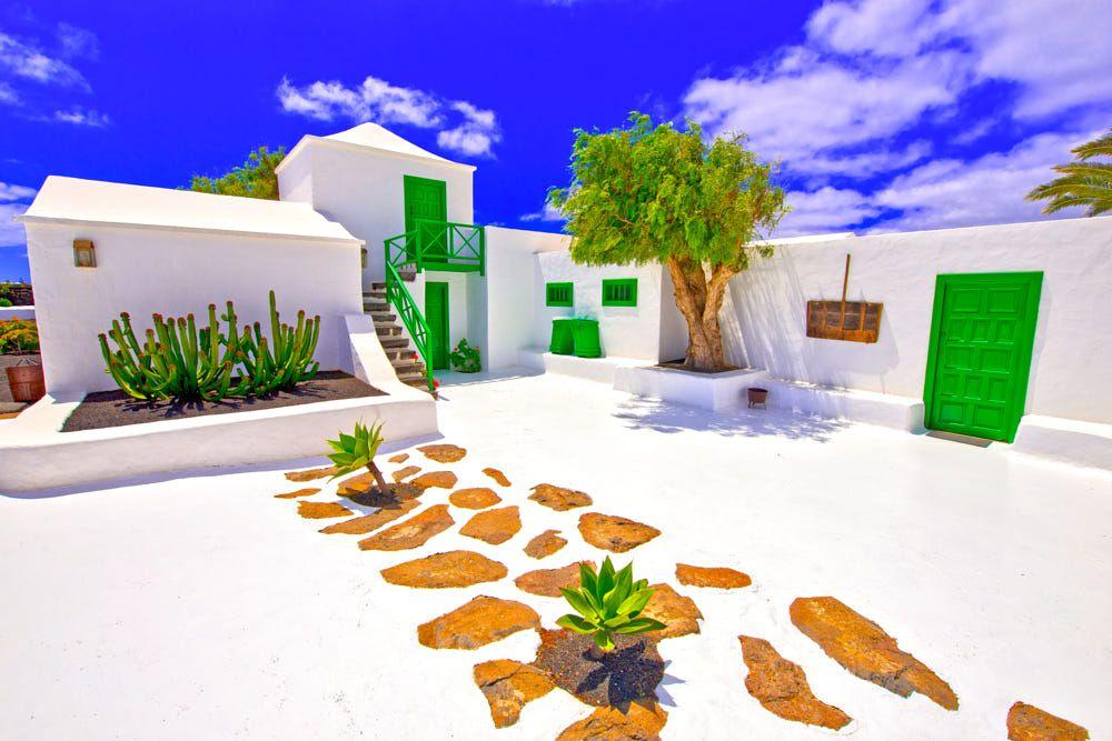 spain,canary islands,lanzarote casa del campesino