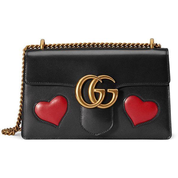a18cb3b01e6 Gucci GG Marmont Medium Heart Shoulder Bag ( 2