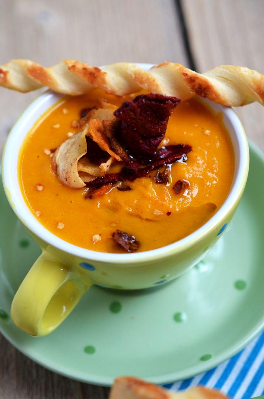 Supa Crema Picanta De Morcovi A Lui Dwalin Retete Culinare By Teo S Kitchen Food Recipes Favorite Recipes