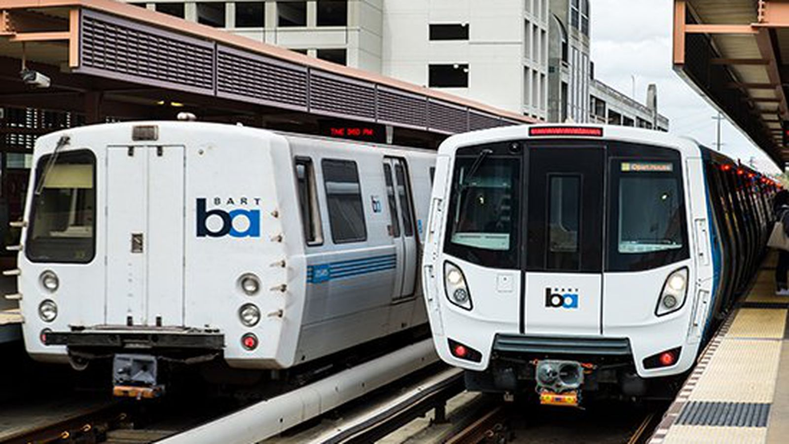 New BART trains arriving this September Train, Bay area