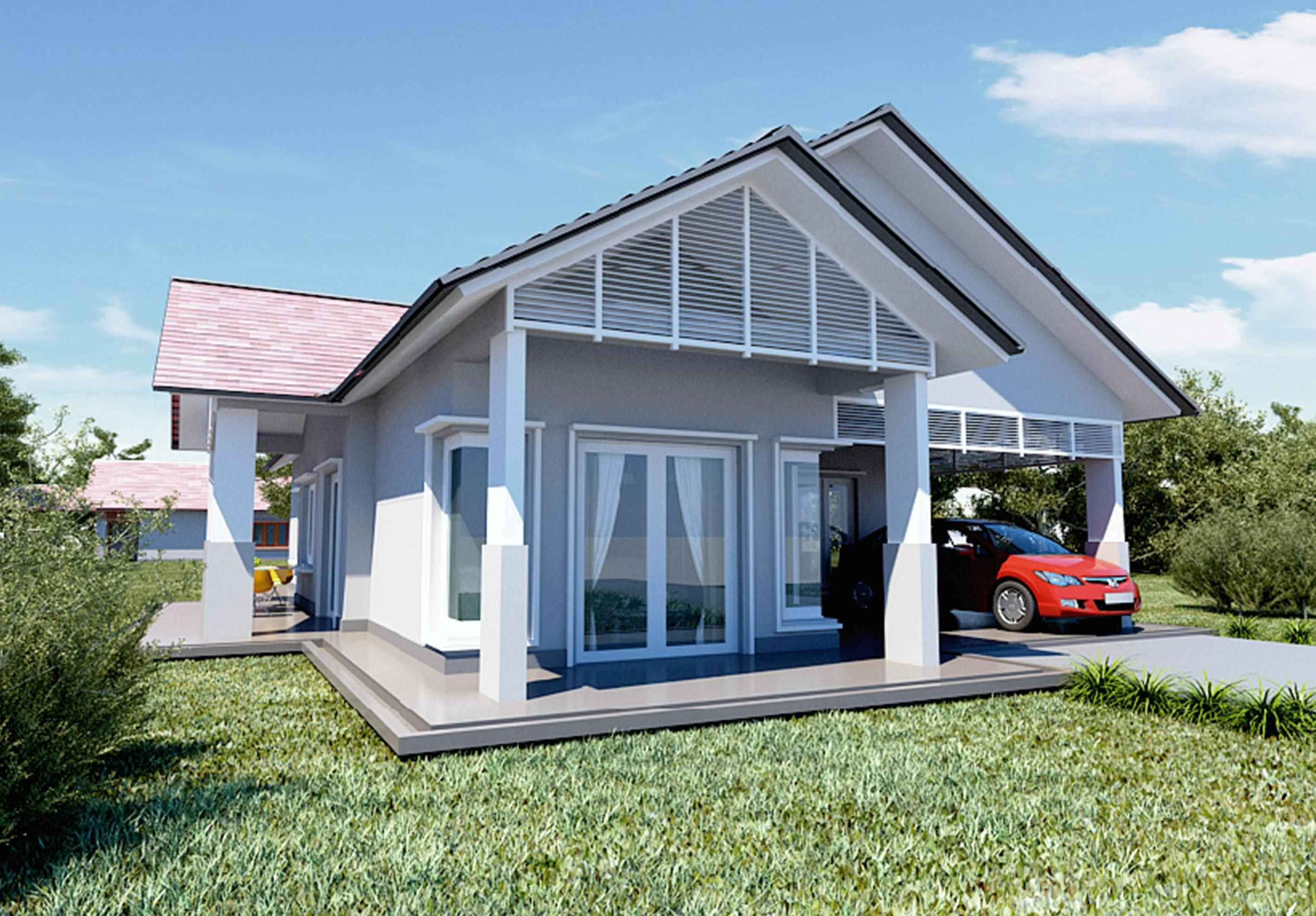 Bentuk Rumah Banglo  Reka Bentuk Rumah Terkini  my dream