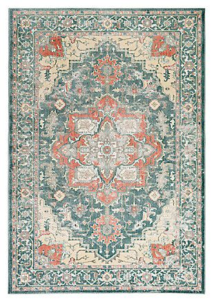 Home Accents Serene 5 3 X 7 Area Rug Ashley