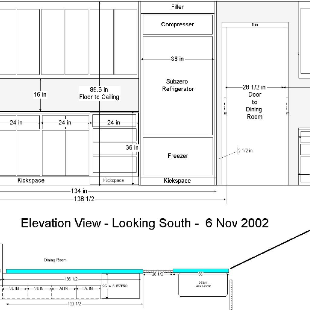Standard Kitchen Counter Height And Depth   Novocom.top
