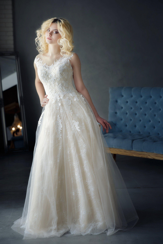 Lace wedding dress designers  Lace wedding dress d wedding dress bridal dress nude wedding