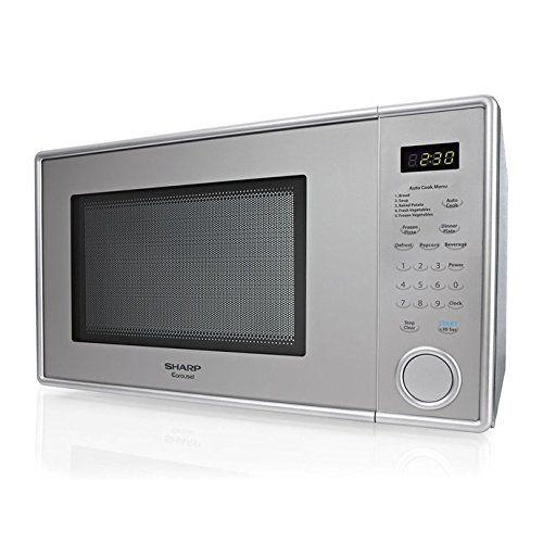 Cheap Sharp Stainless Steel Carousel Countertop Microwave 1 1 Cu