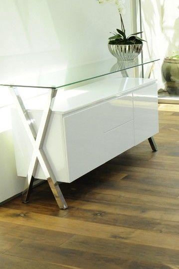 Beverly Modern Multi Function Buffet   White By Dulce Modern Mid Century  Furniture On @HauteLook