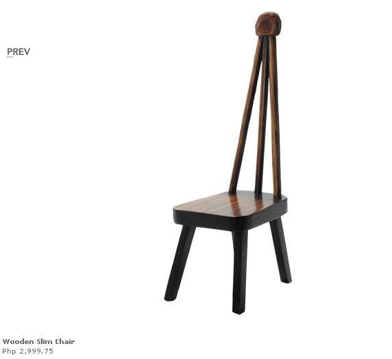 Bench · Wooden Slim Chair ...