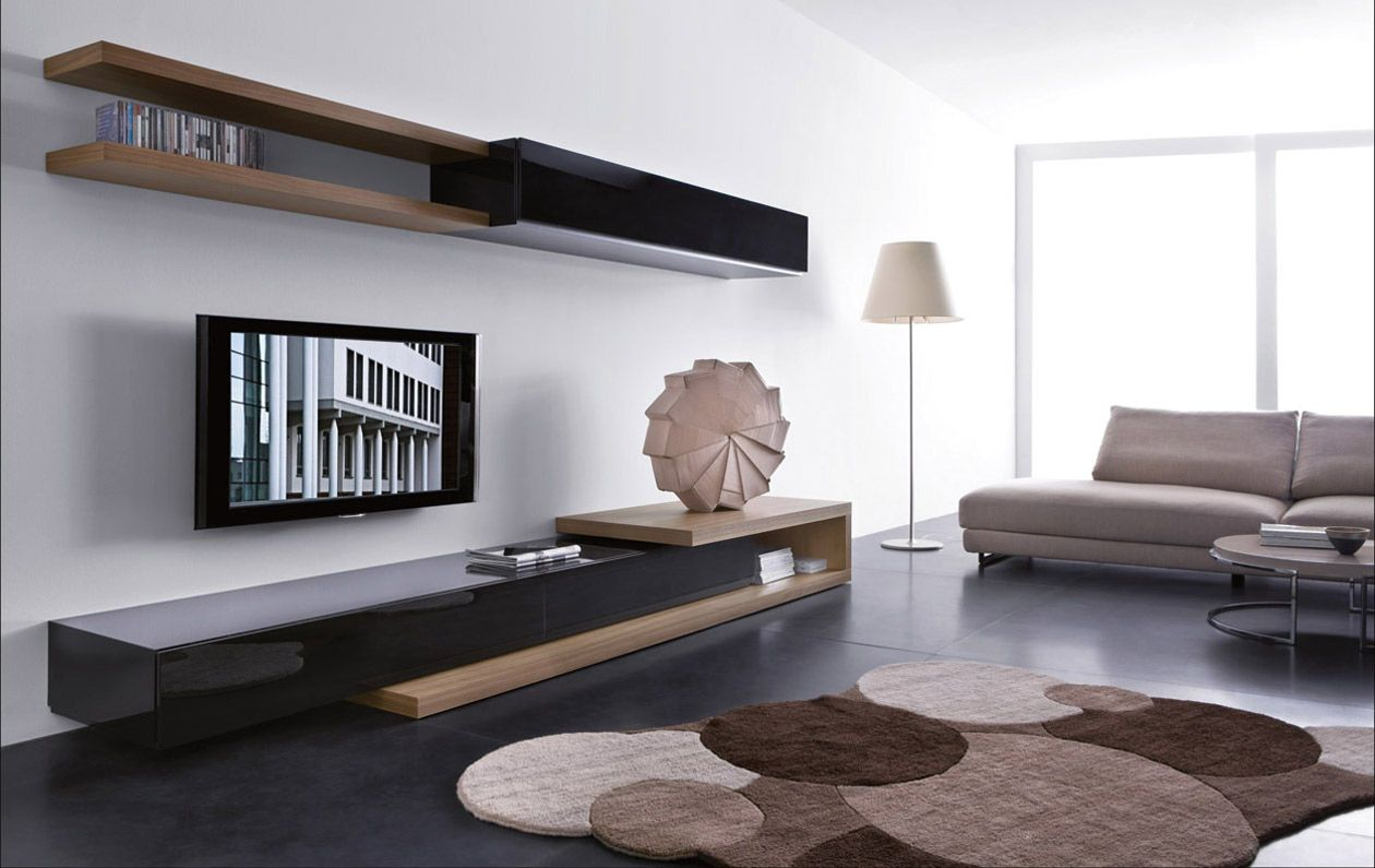 19 Impressive Contemporary Tv Wall Unit Designs For Your Li