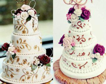 Wedding cake ornament wedding cake replica anniversary gift