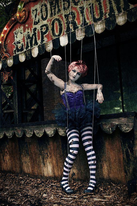 DIY Creepy Doll Costume   maskerix.com