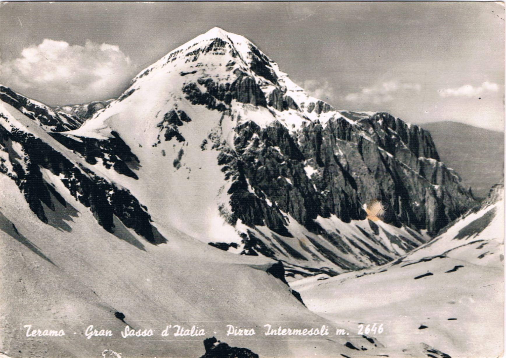 TERAMO - Gran Sasso d'Italia - Pizzo Intermesoli - m. 2646