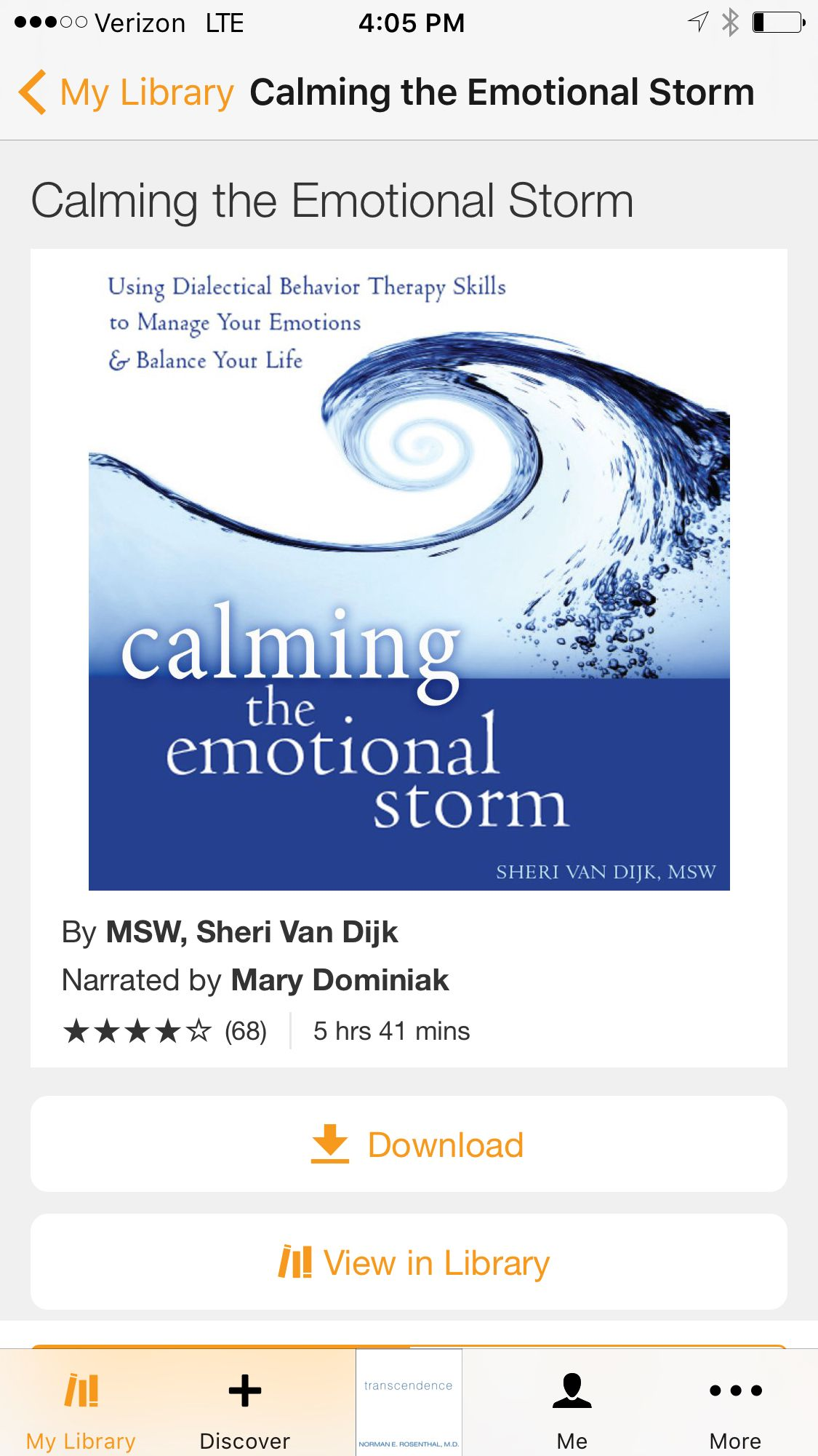 "Calming The Emotional Storm - By MSW, Sheri Van Dijk (Using ""DBT"" Dialectical Behavioral Therapy Skills to Manage Your Emotions & Balance Your Life)"