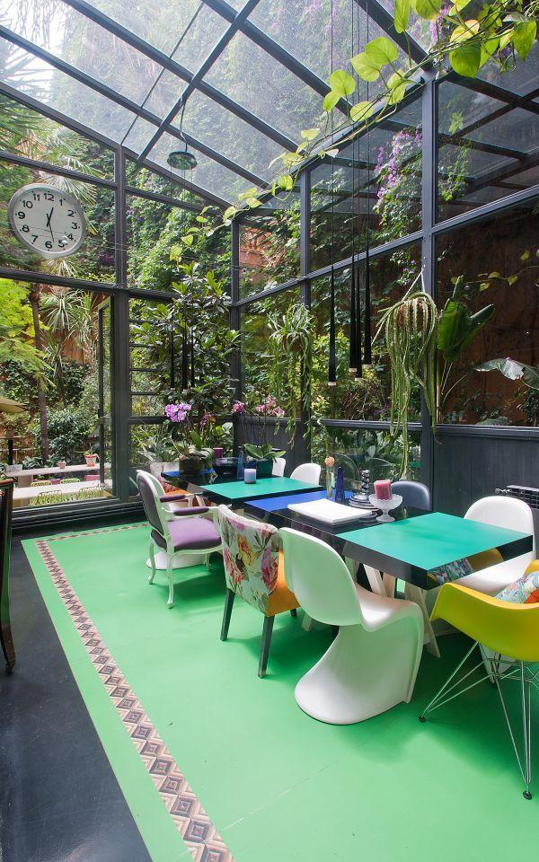 Jardin Interior Expectacular En Este Dise Ointerior De Vivienda Este Loft En Venta Es Una Pieza única De Diseño E Interiorismo En Pleno  Barrio De