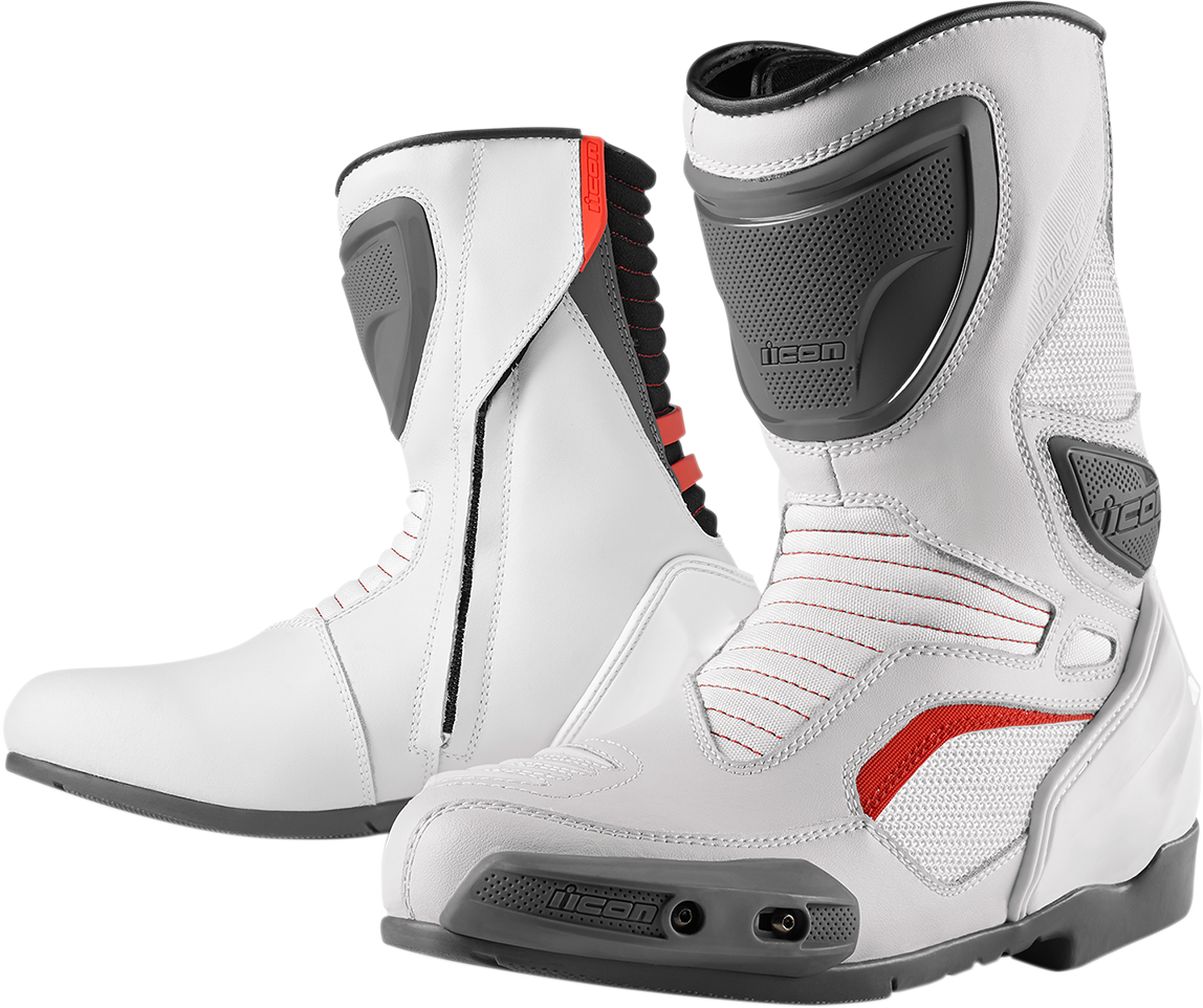 Overlord Boot White Products Ride Icon Leather
