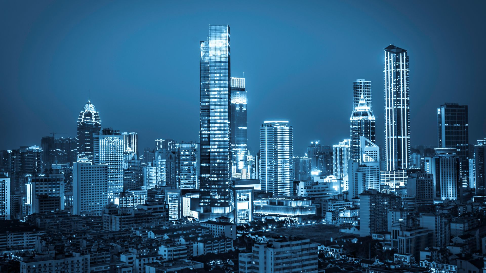 Download Wallpapers Of City Nightscape Cityscape Urban Modern Skyline Hd 5k World 11900 Available In Hd Amazing Architecture Skyline Image Skyline