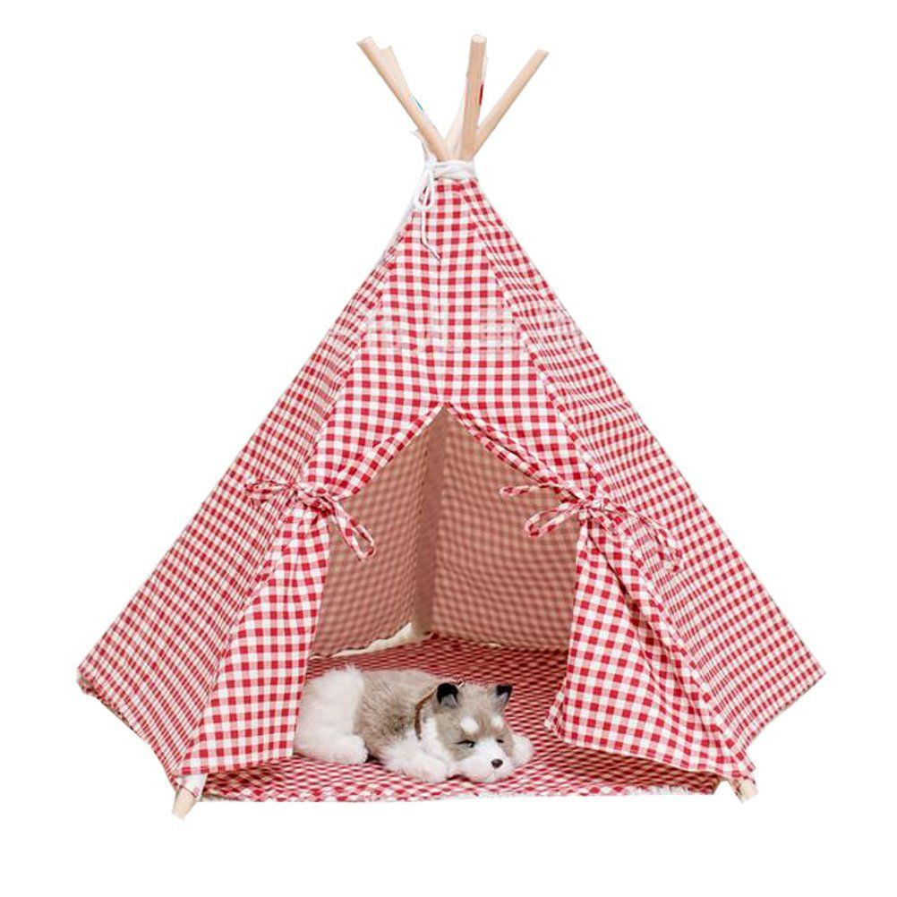 Free Love Hot Selling Red Color Dog Bed Dog House Pet Play House Play Teepee Tent Insider S Special Review You Can T Miss Read Dog House Dog Bed Play House