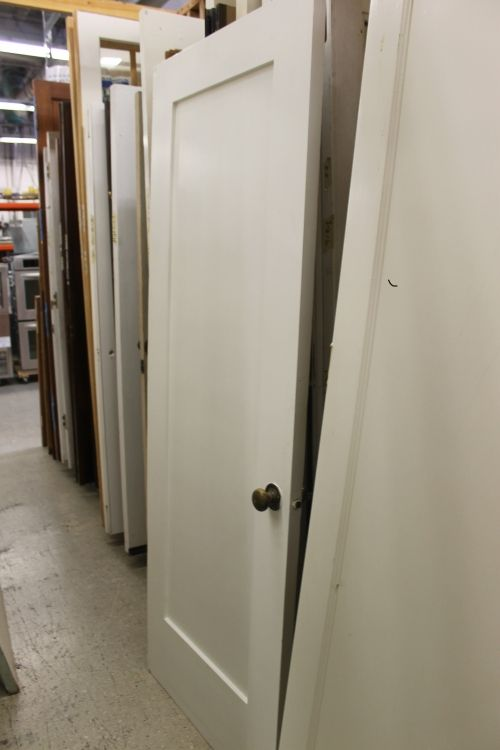 Selection Of 1 Panel Interior Doors For Sale At The Restore Prices