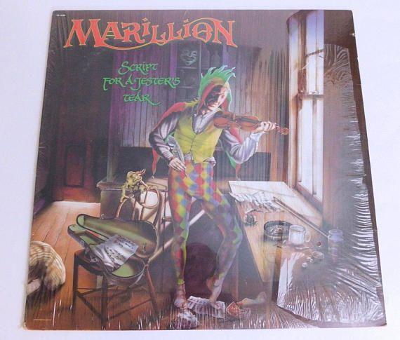 Vintage Vinyl Record Marillion Script For A Jesters Tear Vintage Vinyl Records Vinyl Records Vinyl Record Collection