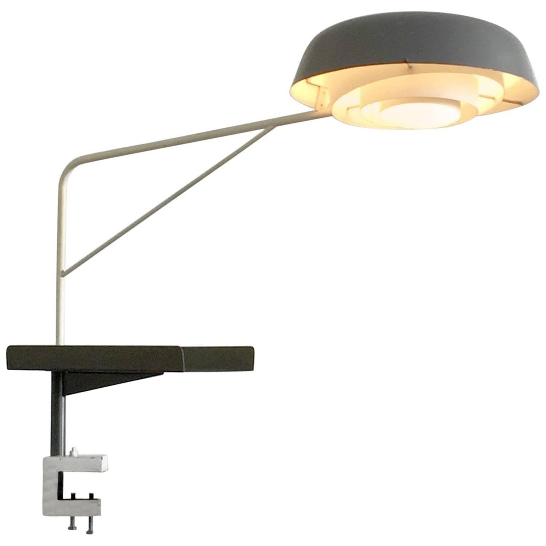 henri lancel and robert mathieu agrafée clamp desk lamp free