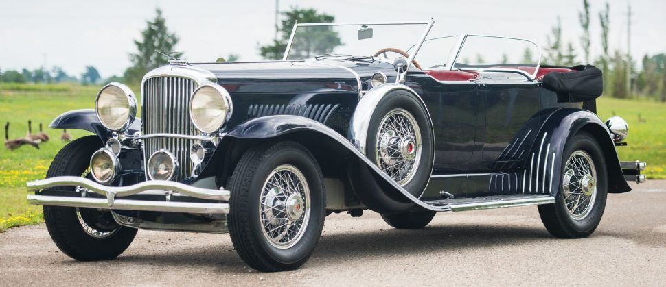 Once Bricked In At A Mexican Airport Duesenberg Model J Tops Rm