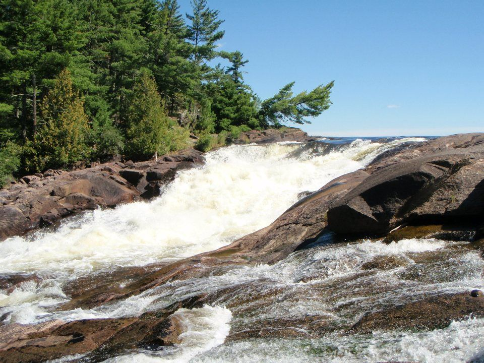 Curtain Falls Boundary Waters Mn Beautiful Waterfalls Places To Visit Pretty Places
