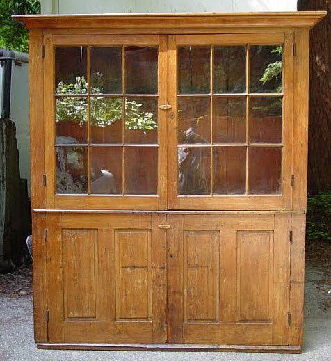 Beautiful old cupboard.