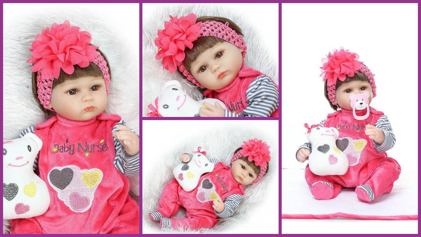 Bebe Reborn Menina 5 Modelos Promocao Sem Imposto 12x S Juro R