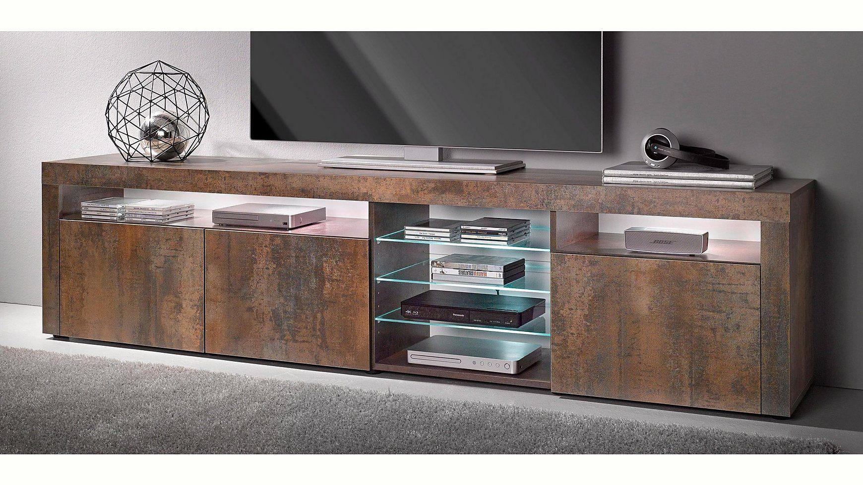 Lowboard Breite 200 Cm Cnouch Lowboard Glasboden Wolle Kaufen