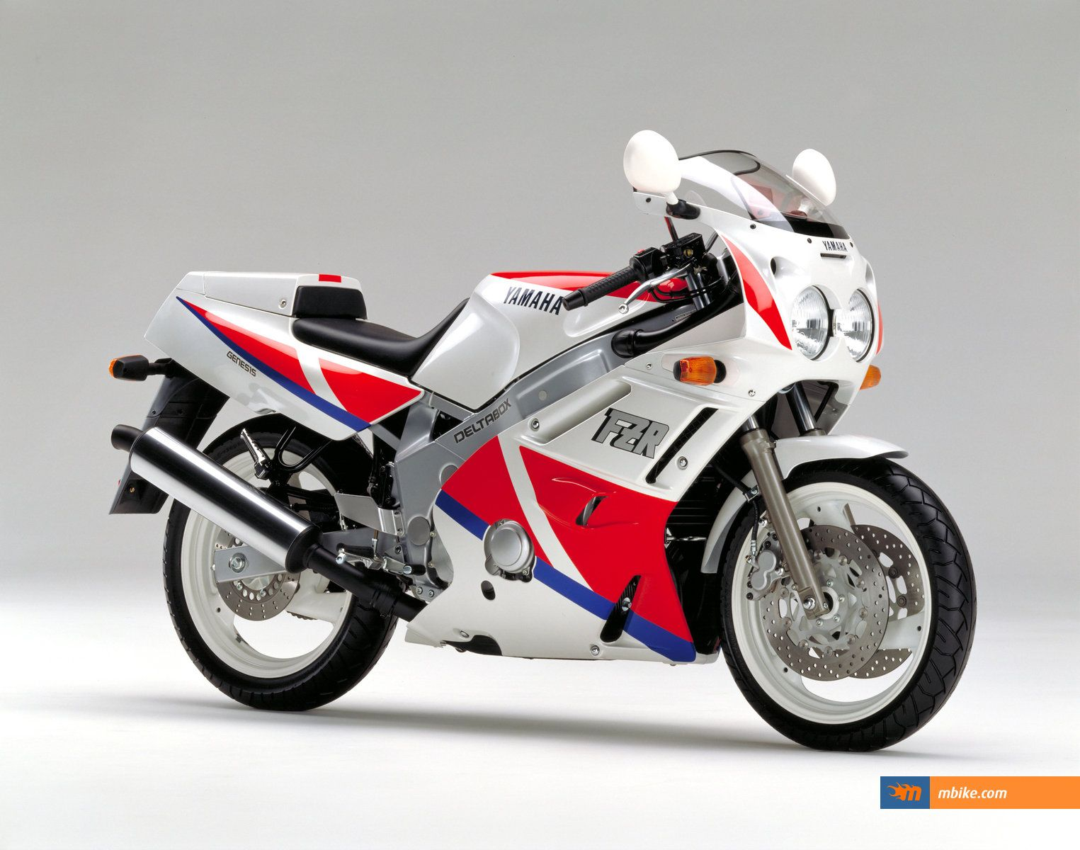 1990 Yamaha FZR600. One of the first real sportbikes.