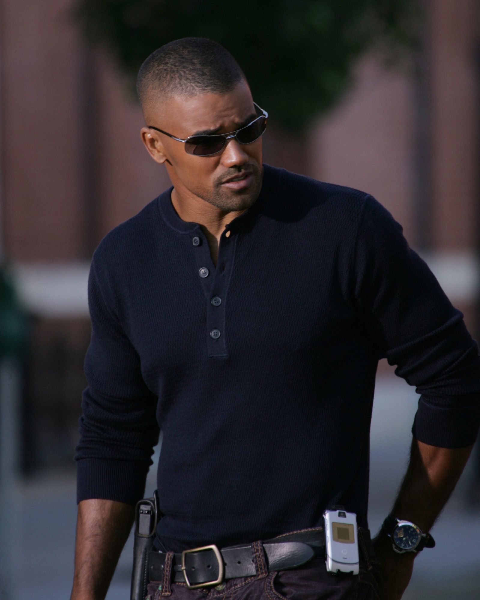 Shemar Moore - he is one reason why I watch Criminal Minds whenever I find it on TV and refuse to watch anything else