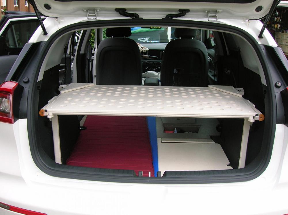 Sleeping In Niro 6 3 Tall Man Kia Niro Forum Tall Guys Hybrid Car Rear Seat