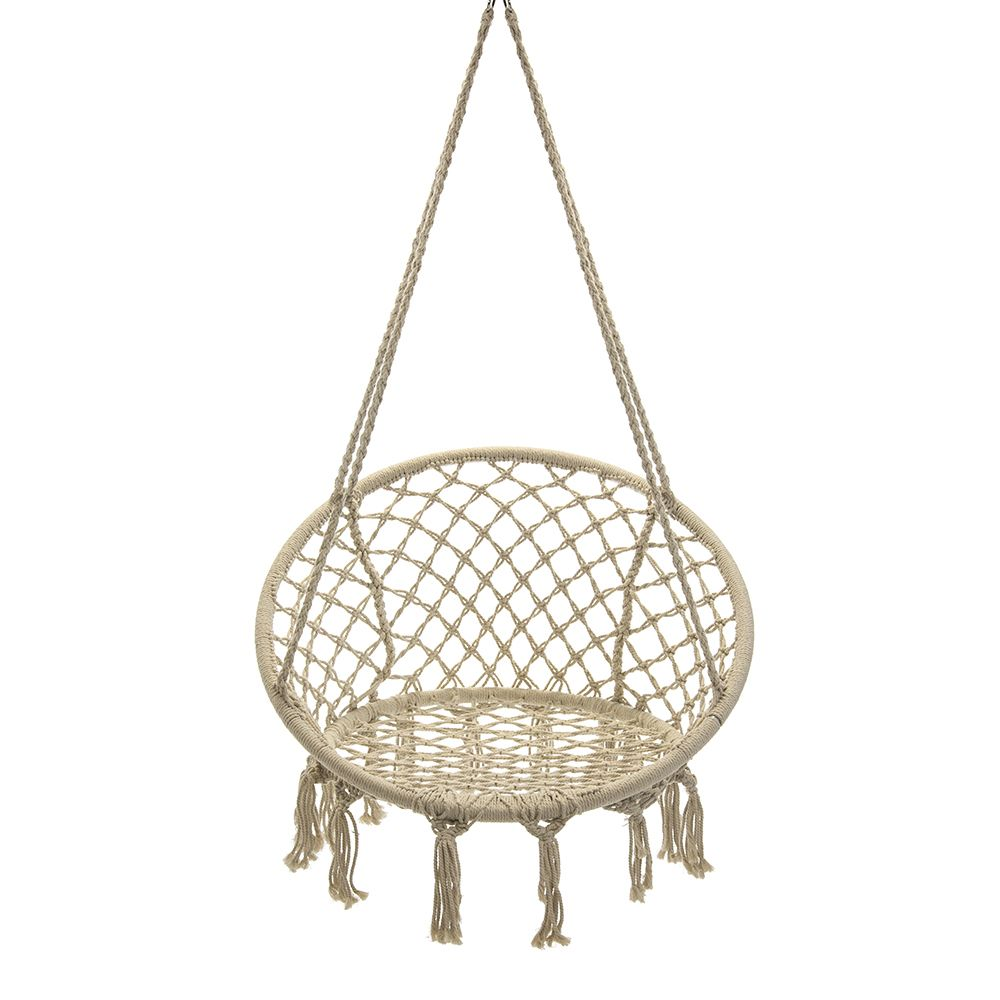 Macrame saucer chair small living pinterest hanging chair