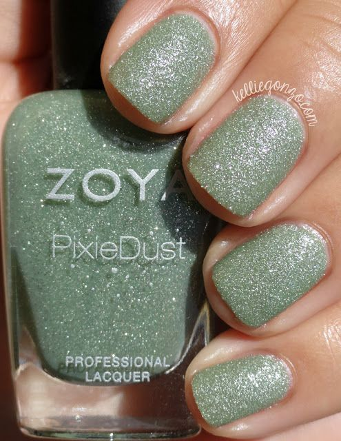 Zoya PixieDust in Dahlia swatches+review - Confessions of