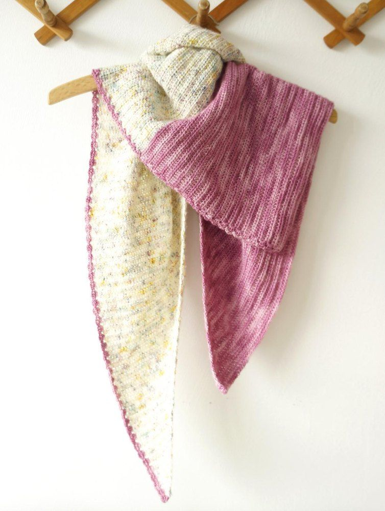 Rhubarb Crumble Shawl Crochet pattern available at LoveCrochet.Com.