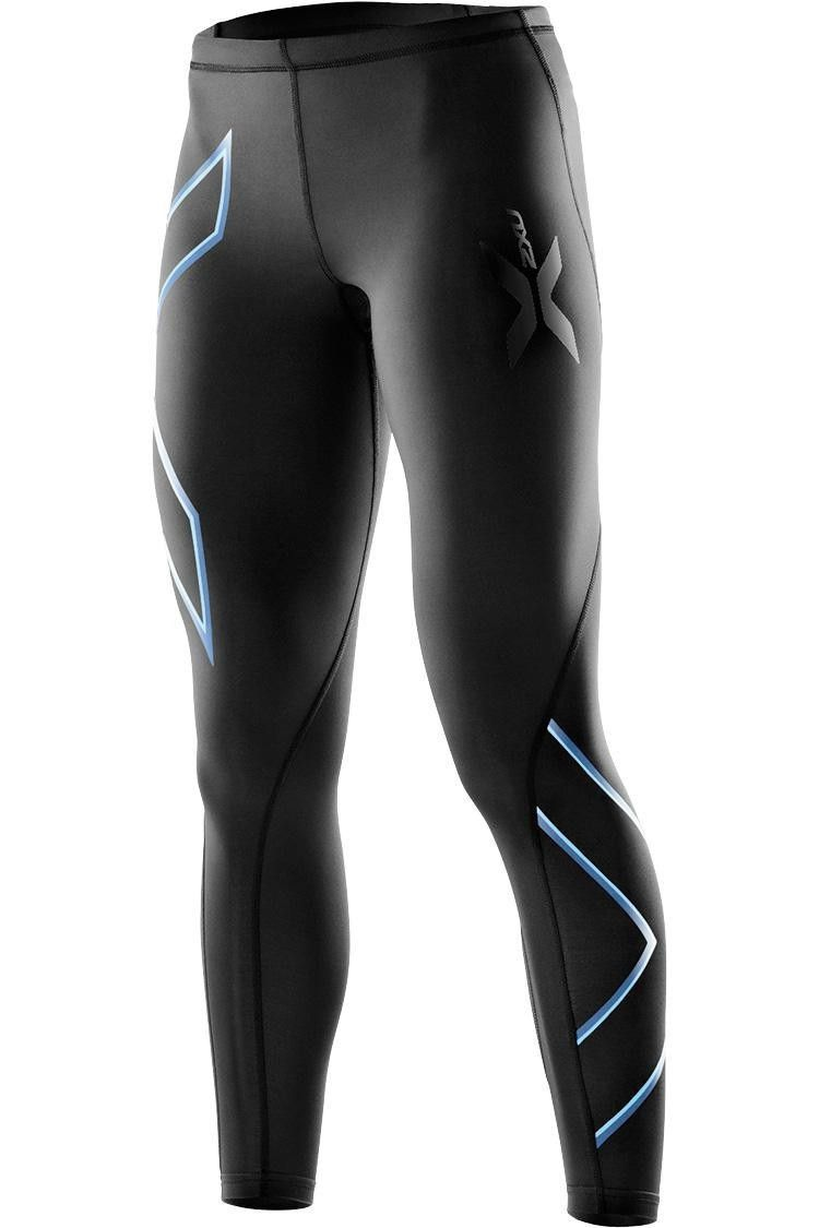 2XU Womens Compression Running Shorts Pants Trousers Bottoms Black Sports