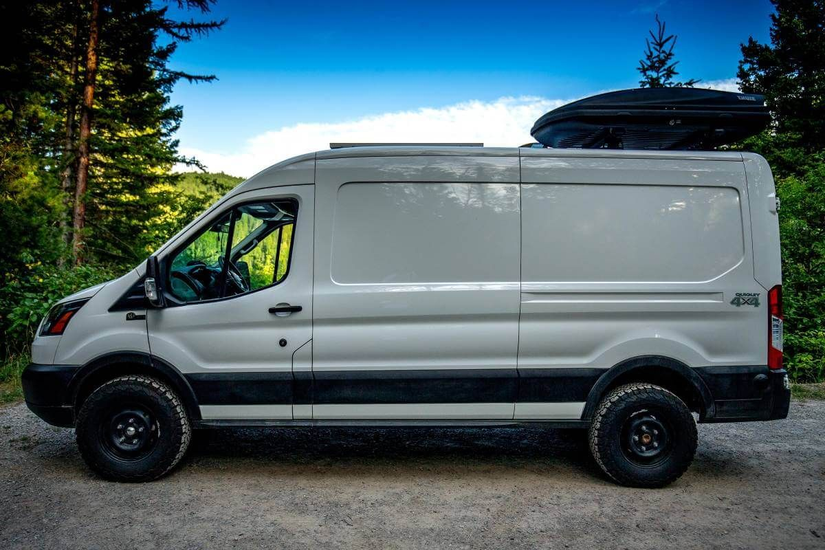 2019 Ford Transit Overland Van By Quigley 4x4 Is Up For Sale Ford Transit Overlanding 2019 Ford