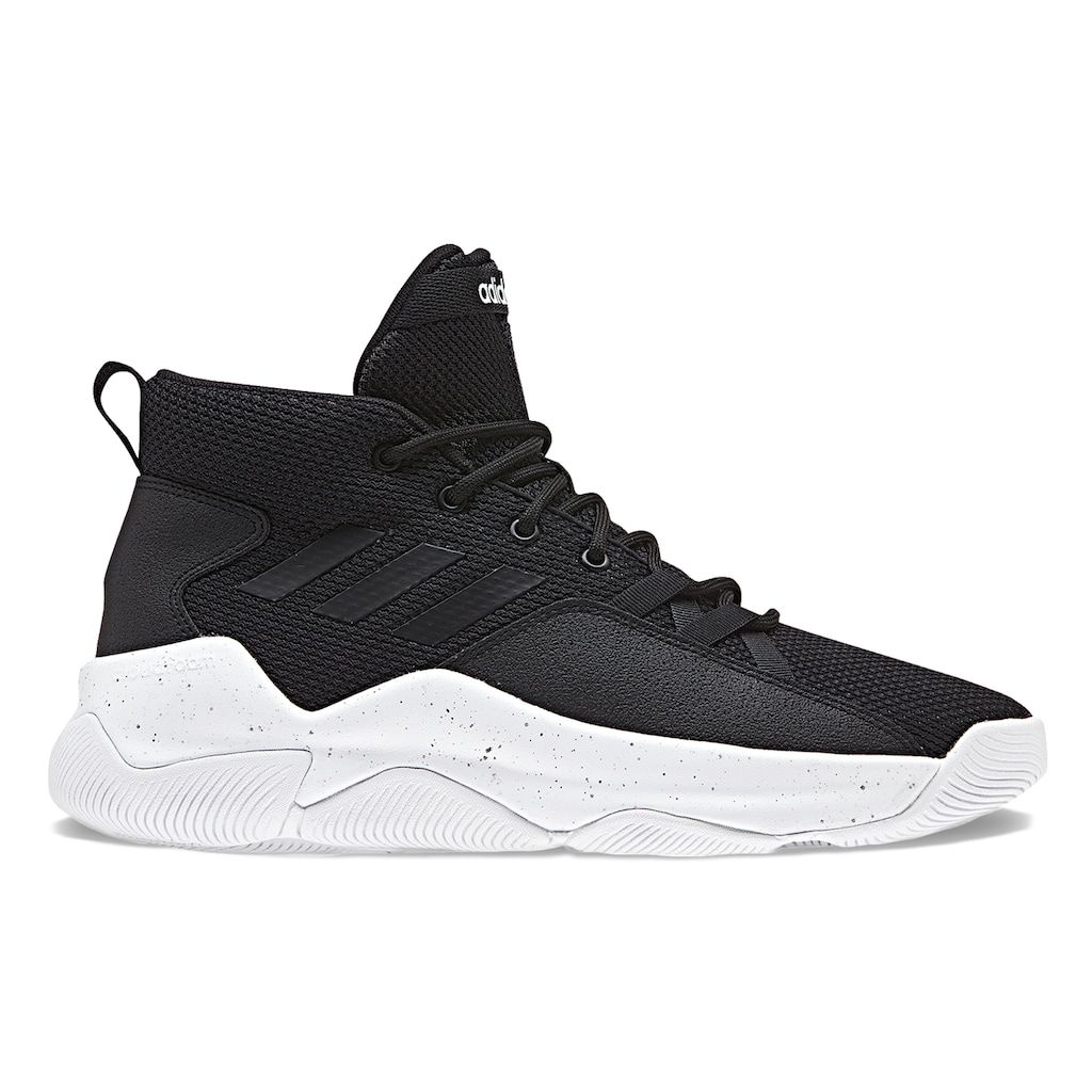 huge selection of 73f51 109d8 Adidas Cloudfoam Streetfire Men s Basketball Shoes, Size  11.5, Black