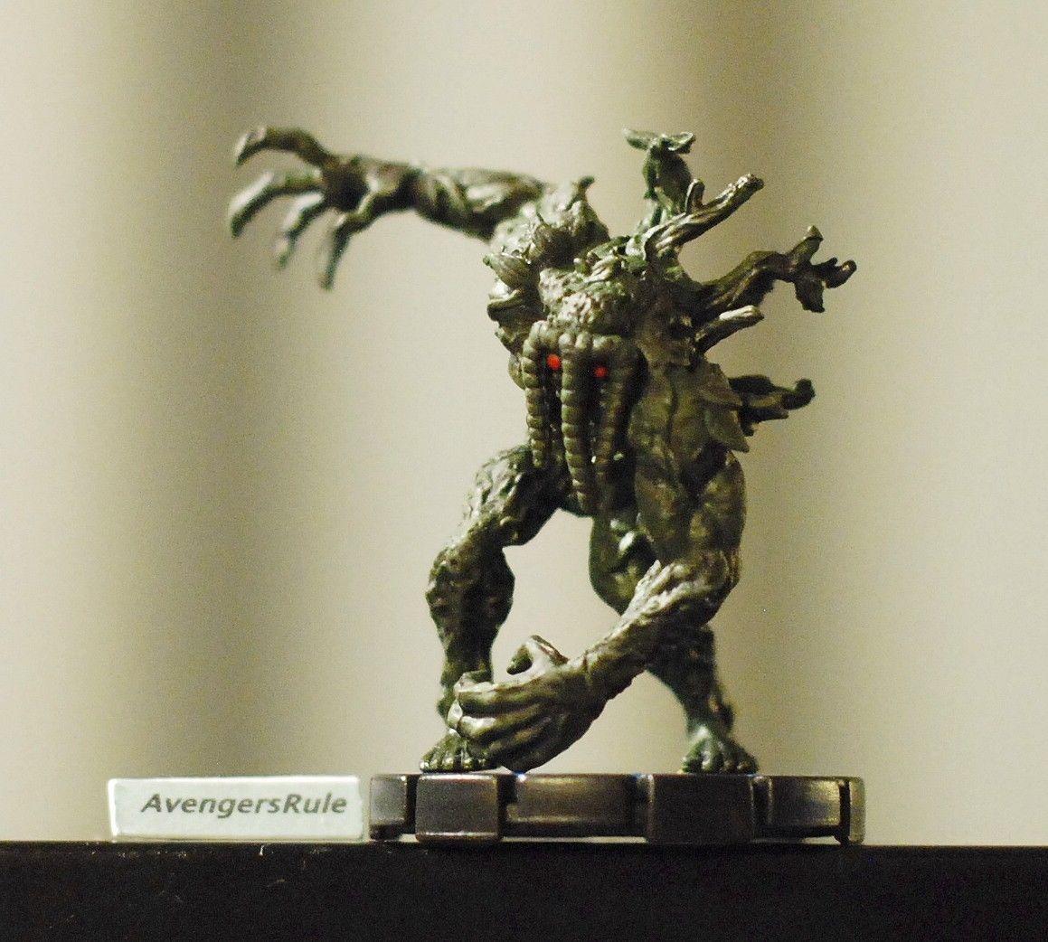Mutant Mayhem Heroclix 062 Man-Thing Experienced Marvel