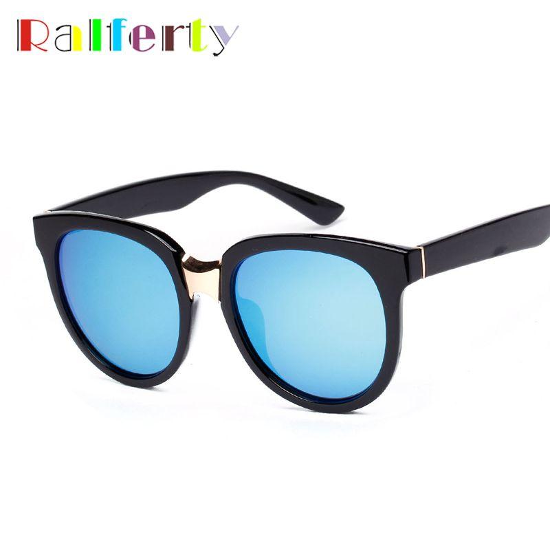 cbe183d8f7b Ralferty Oversized Blue Mirrored Polarized Sunglasses Women UV400 Sun Glasses  Shades Polaroid Coating Eye Glasses lunette 6081  Affiliate