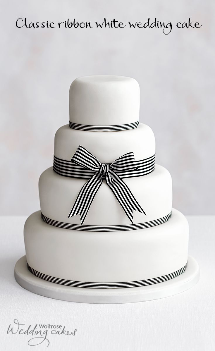 This is the Audrey Hepburn of cakes, minimalist in monochrome - a ...