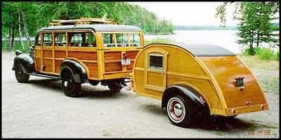 Wood panel Jeep and trailer. - Wood Panel Jeep And Trailer. Camping & Boating Pinterest