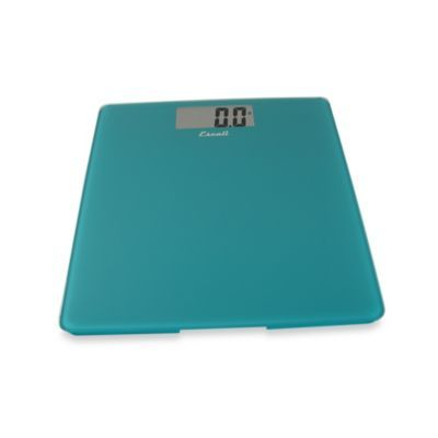 Escali Glass Platform Bathroom Scale In Peacock Blue Glass Bathroom Bathroom Scale